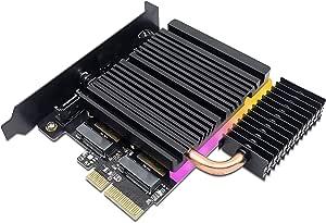 Ezdiy Fab 5v Argb Dual M 2 Adapter Für Sata Und Pcie Computer Zubehör