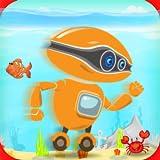 Roboter-Wasser-Surfer - Unterwasserlauf
