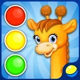 Colori di apprendimento per bambini piccoli - gioco educativo animato divertente per bambini piccoli per imparare i colori in inglese, spagnolo (e altre lingue) - rosso, verde, giallo, blu, rosa, porpora, bianco, nero, marrone, arancio
