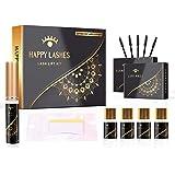 Happy Lashes - Professionele Wimperlift Kit - Zwarte Editie - Extra Snelle Toepassing voor Natuurlijke Lift en Krul - Lash Li