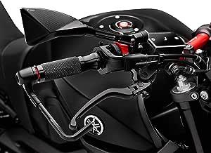 Rizoma Motorradgriffe Lenkergriffe Sport Alu Für 22mm Gr205b Schwarz Unisex Multipurpose Ganzjährig Aluminium Auto