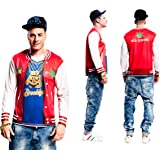 Partychimp 83-Y00053 - Rapper T-Shirt, Erwachsene, XL, rot