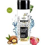 Natyr® Bio Pflege-Shampoo - Das Beauty Wunder Nr.1 Haar-Shampoo aus Italien - Reine Naturkosmetik mit Argan-Öl, Feigenkaktus & Aloe Vera ohne Silikon, Sulfate und Parabene [Vegan]
