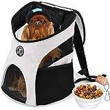 Enledy Hundetasche,Hundetragetasche,Katzentragetasche,Tragetasche Transporttasche Transportbox für Kleine Hunde und Katzen -um Ihr Tier sicher und komfortabel zu halten (geeignet für Tiere unter 7KG)