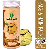 HerbtoniQ 100% Natural Multani Mitti Powder (Fuller's Earth/Calcium Bentonite Clay) For Face Pack And Hair Pack (Pack Of 1)