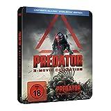 Predator 1-3 (Steelbook) [Blu-ray]