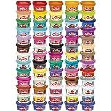 Play-Doh Vier Feest 65 Pack Play-Doh Vier Feest 65 Pack, 65-delige set boetseerklei voor kinderen vanaf 3 jaar, potjes van 56