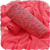 AAHIRA Women Georgette Un-Stitched Salwar Suit Dress Material