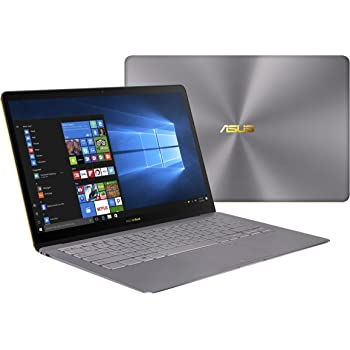 ASUS ZenBook 3 Deluxe UX490UA Full HD 14 Inch Laptop, Grey, Intel Core i5-7200U Processor, 8 GB RAM, 256 GB SSD, HD Graphics 620, Windows 10 Home