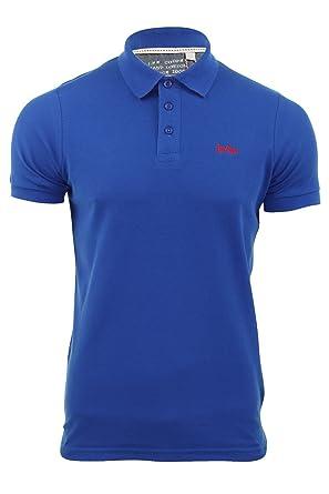 Herren Pique Polo-Shirt Lee Cooper Premium-Range 'Woburn' T-Shirts