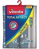 Vileda 163263 Housse de Planche à Repasser Total Reflect, Tissu, gris, 45x130 cm