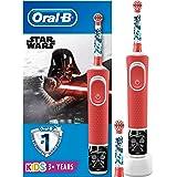 Oral-B Kids Spazzolino Elettrico Ricaricabile, 1 Manico con Personaggi di Star Wars, 2 Testine di Ricambio, per Età da 3…