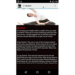 Increase Height In a Week!: Amazon co uk: Appstore for Android