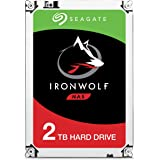 Seagate IronWolf 2 TB, ST2000VN004, disque dur interne, 8,9 cm (3,5 Zoll), 64 MB Cache, 5900 RPM, SATA 6Gb/s,