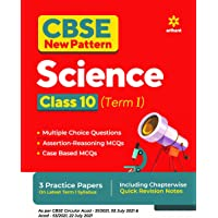 CBSE New Pattern Science Class 10 for 2021-22 Exam (MCQs based book for Term 1)