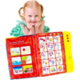 ABC Sound Book for Children. English Letters & Words Learning Book, Fun Educational Toys. Activities With Numbers, Shapes, Co