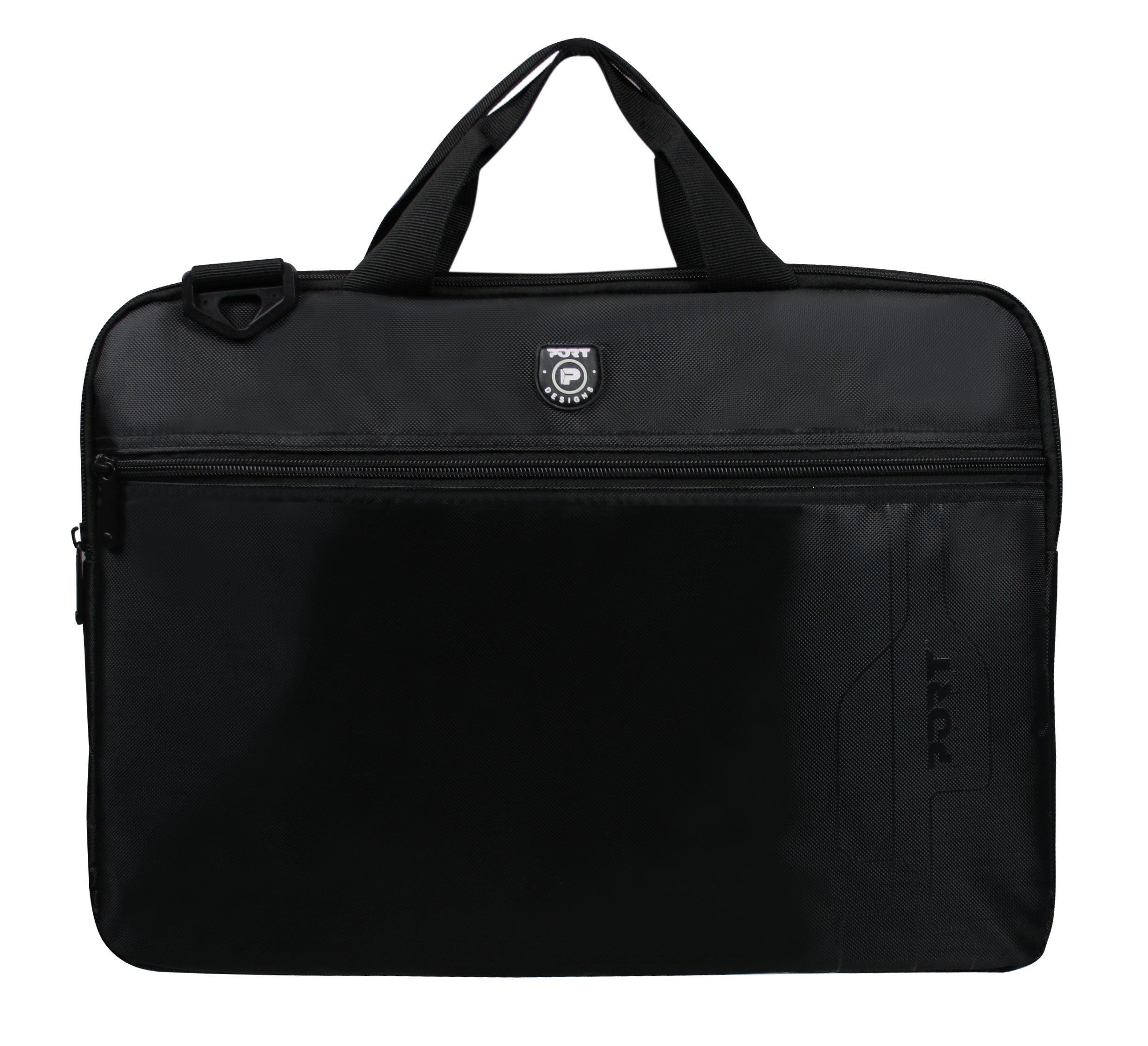 81k7cDkn%2BWL - Port Designs 202310 maletines para portátil - Funda (Mochila, Negro, Monótono, Nylon, Resistente al Polvo, Resistente a rayones)