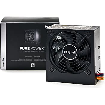 be quiet bn106 pure power l7 530w power supply amazon co ukbe quiet bn106 pure power l7 530w power supply