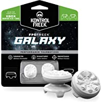 KontrolFreek FPS Freek Galaxy White for Xbox One and Xbox Series X Controller   Performance Thumbsticks   1 High-Rise, 1…
