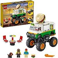 LEGO 31104 Creator Le Monster Truck à Hamburgers, Jouet à Construire pour Les Enfants adeptes de Hamburgers, de Voiture…