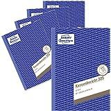 Avery Dennison 305-5 - Cuaderno de facturas (A5, 5 unidades con 50 hojas)