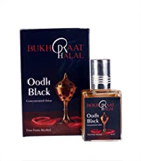 RACKDACK Bukhraat Halal Oudh Black Oriental Attar Concentrated Perfume Oil 10ml