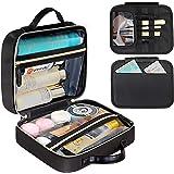 DIMJ Neceser Maquillaje, Bolsa de Maquillaje con Bolsa Desmontable Organizador de Maquillaje Bolso de Cosméticos de Viaje