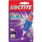 Loctite Super Glue-3 Creative, secondelijm in stiftvorm voor nauwkeurige toepassingen, Superglue gel, herbruikbaar, druipt ni