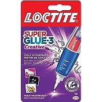 Loctite Super Glue-3 Creative, colle instantanée sous forme de stylo pour applications précises, Gel Superglue…