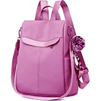 PAGWIN Cute Style Female Student Oxford Waterproof Anti Thief School Bags Backpack Girls Daily Backpack Sling Bag (PG…