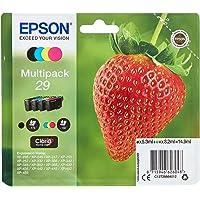 Epson Multipack 29 Fraise, Cartouches d'encre d'origine, 4 couleurs: Noir, Cyan, Magenta, Jaune, XP-235 XP-243 XP-245 XP…