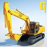 Sand Bagger Traktor 3D