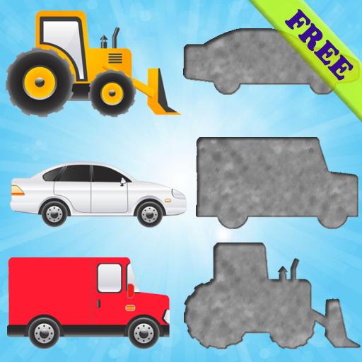 Fahrzeuge Puzzles für Kleinkinder und Kinder FREE (Boot-lift Motor)
