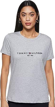 Tommy Hilfiger Essential Organic Cotton Tee W Maglietta Donna