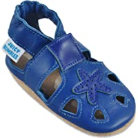 Baby Sandals with Suede Soles – Soft Leather Toddler Shoes – Infant Shoes – Pre Walker Shoes – Crib Shoes
