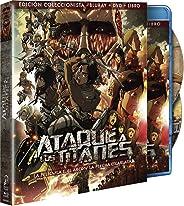 Ataque A Los Titanes: La Película. El Arco Y La Flecha - Parte 1, Edición Coleccionista Blu Ray + DVD + Libro [Blu-ray]