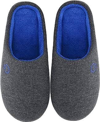Mishansha Unisex Pantofole Casa/Esterno in Memory Foam - Calde Leggere Morbide Comode e Antiscivolo