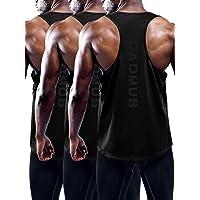 Cadmus Men's 3 Pack Dry Fit Y-Back Muscle Tank Top