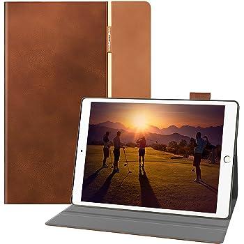 auaua iPad Pro 10.5 Coque, iPad Pro 10.5 Etui, Etui en Cuir pour iPad Pro 10.5 avec Couverture Intelligente Auto/Veille pour Tablette Apple iPad Pro 10.5