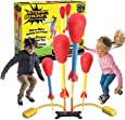 Stomp Rocket The Original Dueling Rockets, 4 Rockets and Rocket Launcher - Outdoor Rocket Toy Gift for Boys and Girls Ages 6 Years and Up - Great for Outdoor Play with friends in the backyard & parks