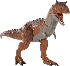 Jurassic World GJT59 - Herrschender Kampfaction Carnotaurus, Spielzeug ab 4 Jahren