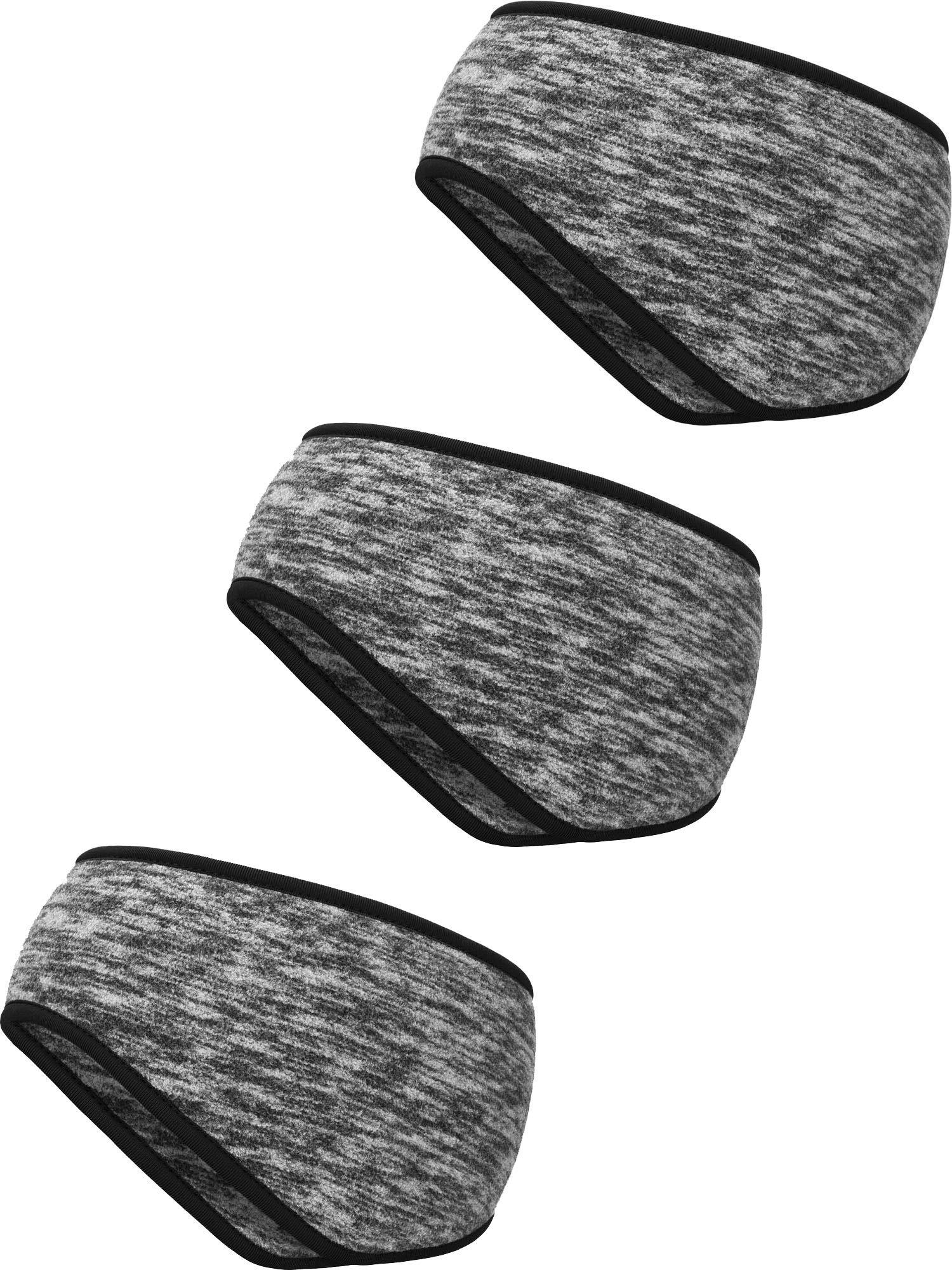 Blulu 3 Stück Ohr Wärmer Stirnband Vollständige Abdeckung Ohrenschützer Stirnband Sport Stirnband für Außeneinsatz Sport Fitness
