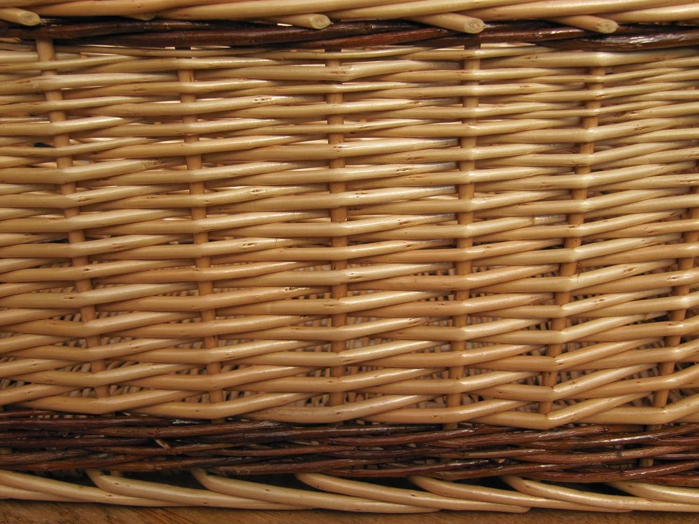 Wicker storage basket home storage baskets melbury rectangular wicker - Melbury Wicker Storage Basket Large L 470mm X W 340mm X H 210mm Amazon Co Uk Kitchen Home