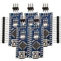 AZDelivery 5 x Nano V3.0 mit Atmega328 CH340 100% Arduino kompatibel mit Nano V3 inklusive E-Book!
