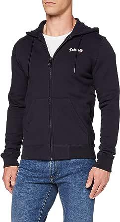 Schott NYC Men's Swzip Hooded Sweatshirt