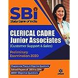 SBI Clerical Cadre Junior Associates Preliminary Examination 2020 (Old Edition)