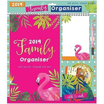 2018 2019 flamingos 2 year pocket planner
