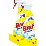 Bref Badkamerreiniger Spray, Anti-kalk, Duopack 2 x 750 ml (1500 ml)