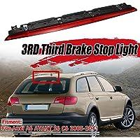 High Level Bremslicht hinten kompatibel mit Audi A6 C6 3.0 3.2L V6 S6 4F9945097 120KW 163HP BNG CDYB NICEKE