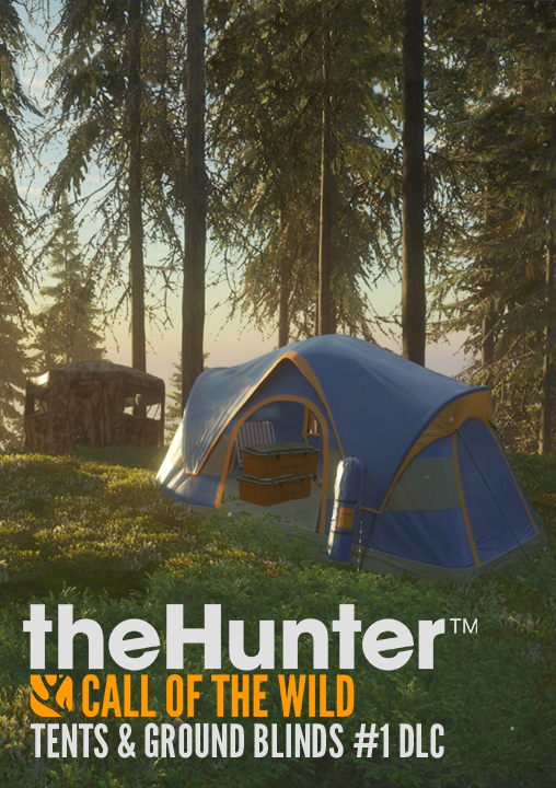 theHunter: Call of the Wild – Tents & Ground Blinds [PC Code - Steam] (Hirsche Blind)